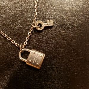 Michael Kors Jewelry - Michael Kors Padlock & Key necklace
